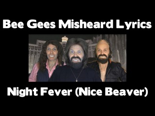 STEVIE RIKS - Bee Gees Misheard Lyrics - Night Fever (Nice Beaver)