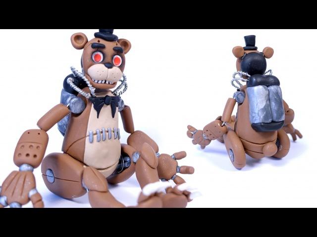 Drawkill Freddy FREDDY b0t Posable Figure Polymer Clay Tutorial