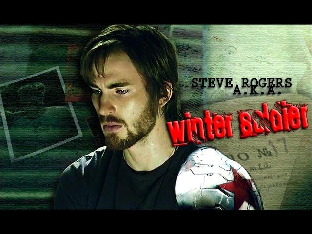 ►AU :: Steve Rogers aka Ꮤinter Soldier