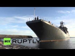 Россия: Северный Флот проведения тренировок антитеррористических.