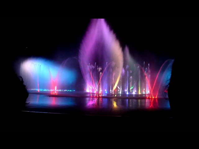 World's Largest Fountain 1 HD - Mission Impossible