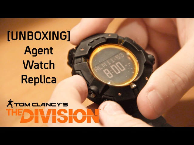 UNBOXING Agent Watch Replica L'orologio di The Division
