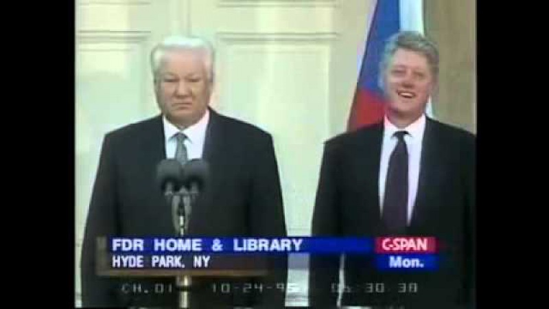 Drunk Boris Yeltsin | Пьяный Ельцин » Freewka.com - Смотреть онлайн в хорощем качестве