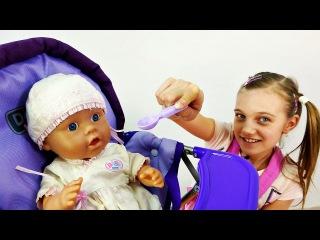 Видео для девочек: Как мама! Юля и Беби Бон Маруся. Игры с куклами. Развивающие видео.