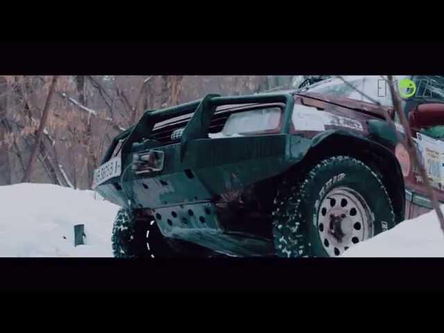 Трофи-рейд по танковой дороге на джипе - www.emozzi.ua