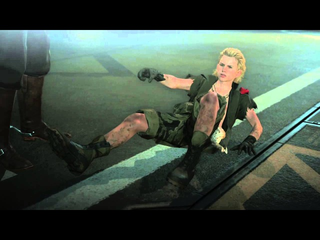 METAL GEAR SOLID V THE PHANTOM PAIN - Cutscene - Ocelot VS Eli - CQC duel