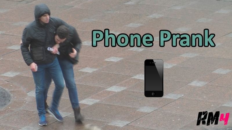 Кража телефона Stealing phones Prank