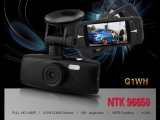 G1WH 2.7 - inch Full HD 1080P Car Dash VR Camera Recorder G - sensor Novatek NT96650