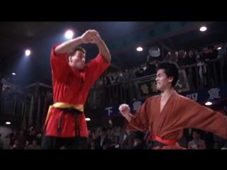 Рельные фрагменты боя Френка Дюкса  и сравнения в к/ф Кровавый спорт