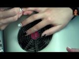 Дизайн ногтей гель-лак Shellac - Маникюр Dior  Лунный маникюр, роспись (уроки дизайна ногтей)