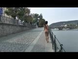 Drahomira Nude in Public 1