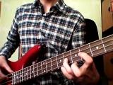Gorillaz - Feel good inc. (bass cover)