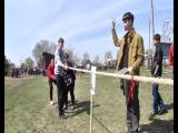 В Колывани в одной из школ райцентра прошла военно-спортивная игра Зарница. За лидерство боролись 13 команд. На пути к цели пере