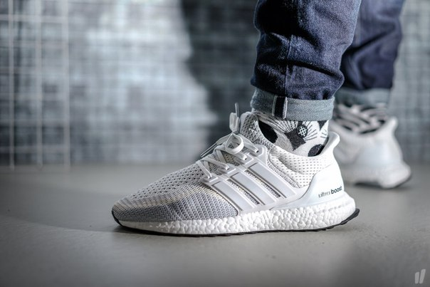 Adidas Ultra Boost Grey And White