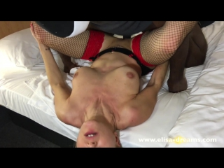 Submitted and used by my black lover and his best friend. красивая девушка elisa dreams трахнулась  в двумя огромными неграми
