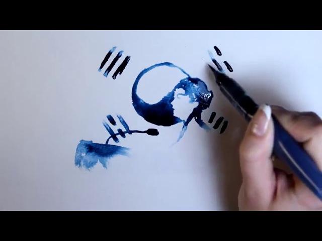 20151224 모스크바 세종학당(원광학교) 초급1B-2 화목반 Marina Konochkina 동영상(Drawn Korea)