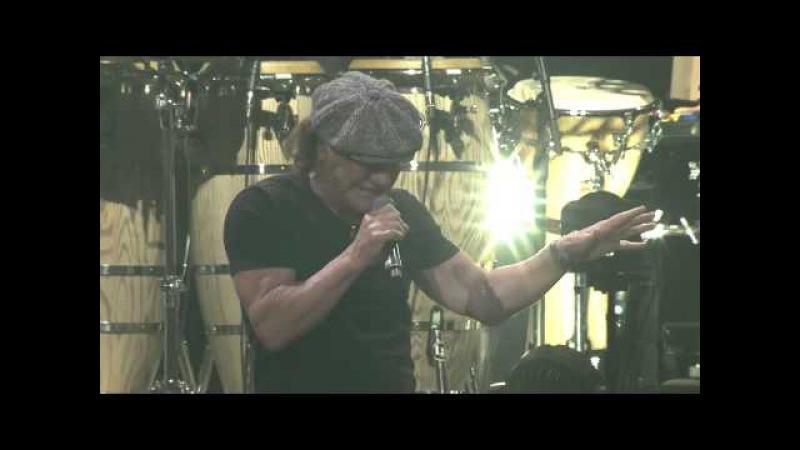 Brian Johnson Billy Joel - You Shook Me All Night Long (Orlando - Dec. 31, 2014)