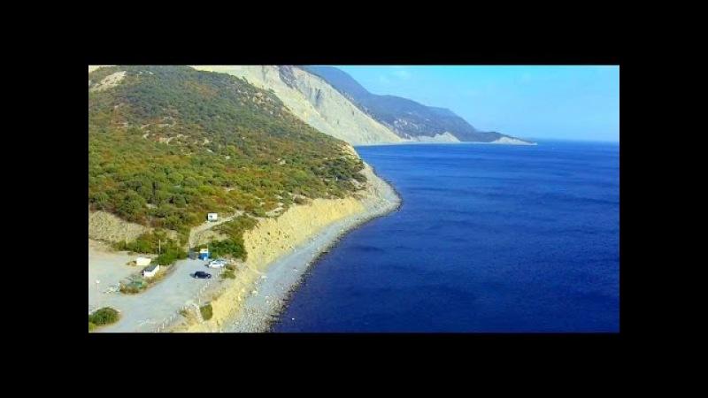 DJI Phantom Остров Большой Утриш полёт к маяку