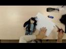 Кукла своими руками Волосы из атласной ленты