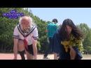 画鋲レース ダパンピ! 2 セーラー服おじさんと50M走! the run to die DA PUMPI