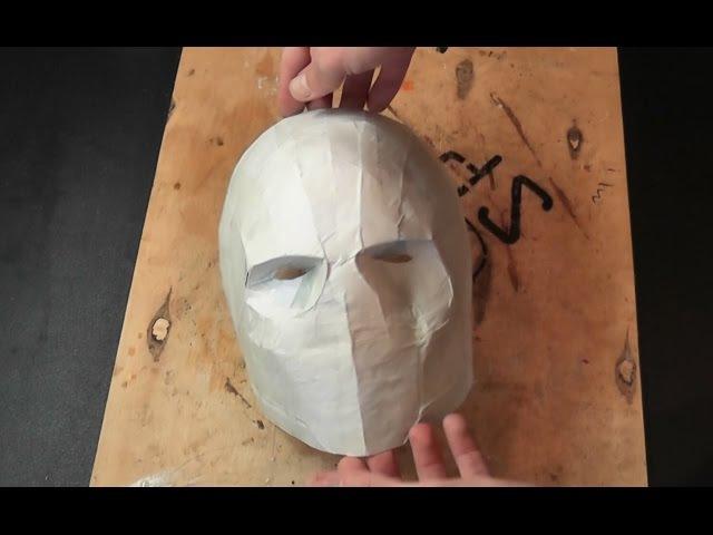 Как сделать маску из бумаги Army of Two (Пепакура)