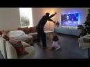 Папа и дочь танцуют под Sia – «Chandelier» #bumbershoot