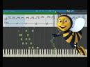 Полёт шмеля Flight of the Bumblebee Piano