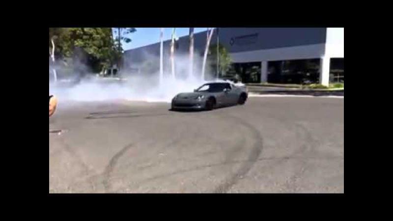 Chevrolet Corvette ZR1 drift
