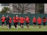 Watch the Reds with Jurgen Klopp in action at Melwood ahead of the trip to Southampton