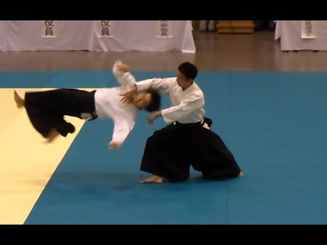 Ueshiba Mitsuteru Waka Sensei at the All Japan High School Aikido Demonstration