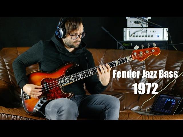Fender Jazz Bass 1972 Review | angeldust-guitars.com