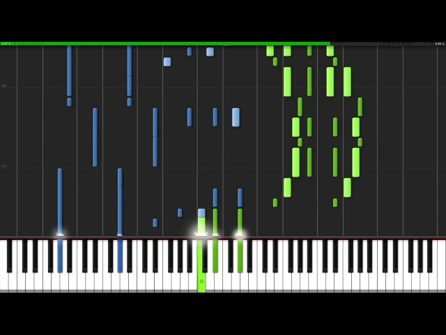 Brave Shine - Fate/Stay Night: Unlimited Blade Works OP2 [Piano Tutorial] (Synthesia) Animenz