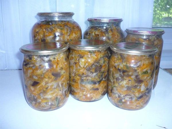 рецепт солянка из грибов и капусты на зиму