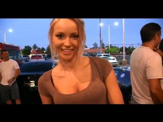 Раскованная блондинка staci carr/ public blonde staci carr