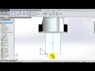 SolidWorks Tutorial #173- Uni. Joint driver