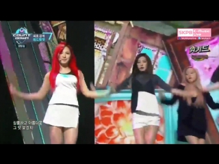 [Comeback Stage] 160317 Red Velvet - Cool Hot Sweet Love @ M! Countdown