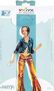 """Игровой набор для девочек из картона. кукла """"party"""" (вечеринка), Умная бумага"""