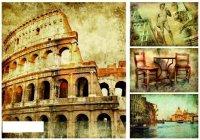 """Рисовая бумага """"римские каникулы"""", а3, Другие люди"""
