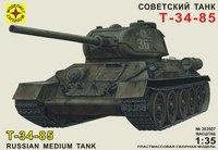 """Сборная модель """"советский танк т-34-85"""", Моделист"""