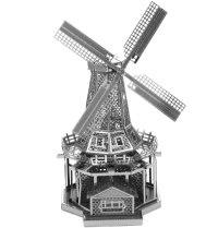 """Сборная металлическая модель """"ветряная мельница"""", METALWORKS"""