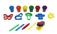 Набор теста для лепки с аксессуарами, 6 цветов, 1 Toy