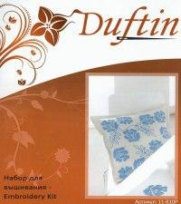 """Набор для вышивания """"розы"""" (декоративный чехол на подушку), Duftin"""