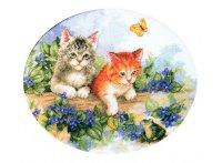 """Набор для вышивания """"котята"""", Белоснежка"""