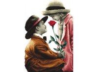 """Набор для вышивания """"роза для леди"""", Белоснежка"""
