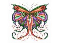"""Набор для вышивания """"кружевная бабочка"""", Белоснежка"""