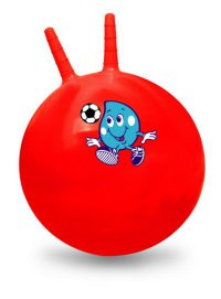 Мяч гимнастический с ручкой, 46 см, Shenzhen Jingyitian Trade Co., Ltd.