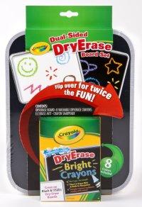 """Набор """"двусторонняя доска для рисования dry erase"""", Crayola"""