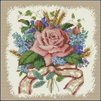"""Набор для вышивания """"букет из роз"""", Dimensions"""