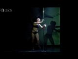 Танец на пилоне (дебют) - Вероника, хореограф Светлана Беляева - школа танца DIVA Studio