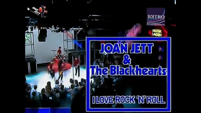 Joan Jett The Blackhearts - I love rock n roll (video-audio edited remastered) HQ